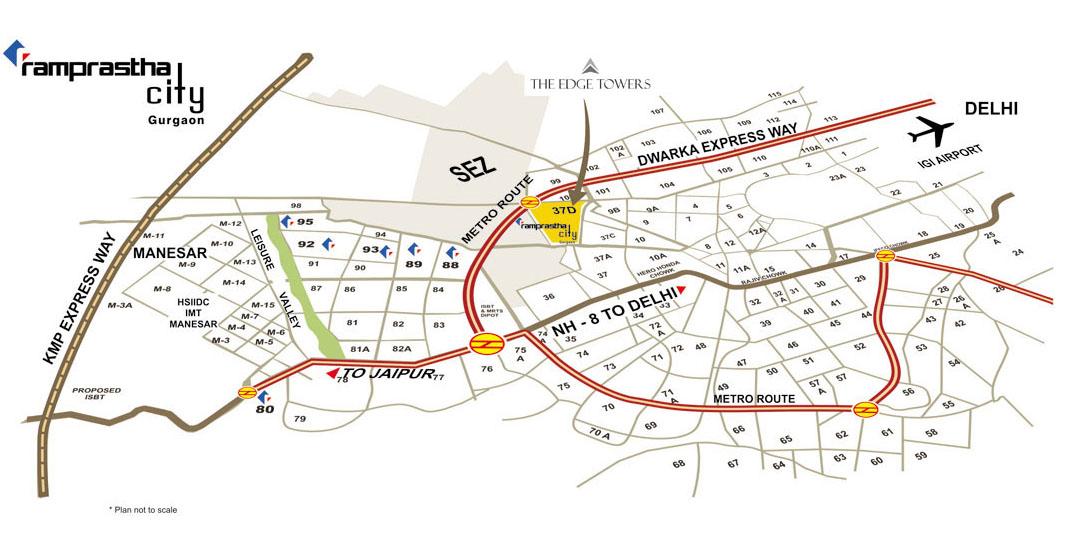 Ramprastha Skyz Gurgaon  Buy Ramprastha Skyz Dwarka Expressway Dwarka Expressway - 10 Bedroom Floor Plans