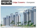 Ramprastha Edge Towers, Sector 37D Gurgaon - Ramprastha Edge Towers Residential project located in Sector 37D Gurgaon near Dwarka Gurgaon Expressway