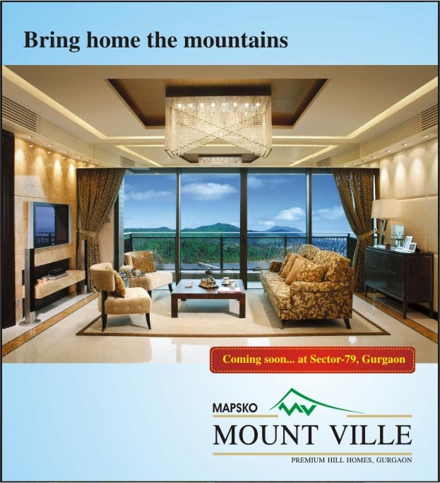 Mapsko Mountville, Sector 79 Gurgaon - Mapsko Mountville New Upcoming Residential project located in Sector 79 Gurgaon near Dwarka Gurgaon Expressway