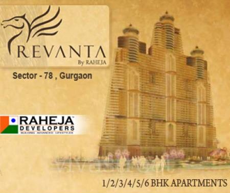 Raheja Revanta, Sector 78 Gurgaon - Raheja Revanta Residential project located in Sector 78 Gurgaon near Dwarka Gurgaon Expressway